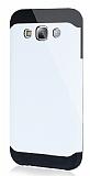 Dafoni Samsung Galaxy E5 Slim Power Ultra Koruma Beyaz Kılıf