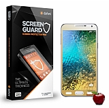 Dafoni Samsung Galaxy E7 Tempered Glass Ayna Gold Cam Ekran Koruyucu