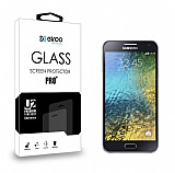 Eiroo Samsung Galaxy E7 Tempered Glass Cam Ekran Koruyucu