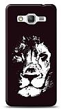 Dafoni Samsung Galaxy Grand Prime Black Lion K�l�f
