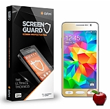Dafoni Samsung Galaxy Grand Prime / Prime Plus Tempered Glass Ayna Gold Cam Ekran Koruyucu