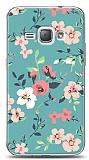 Samsung Galaxy J1 2016 Çiçek Desenli 1 Kılıf