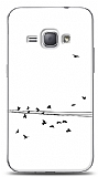 Dafoni Samsung Galaxy J1 2016 Flying Birds K�l�f