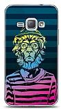 Samsung Galaxy J1 2016 Hipster Lion Kılıf