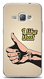 Dafoni Samsung Galaxy J1 2016 I Like That Thumb K�l�f