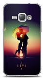 Samsung Galaxy J1 2016 I Love Umbrella Kılıf
