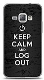 Dafoni Samsung Galaxy J1 2016 Keep Calm And Log Out Kılıf