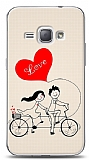 Dafoni Samsung Galaxy J1 2016 Love Bike Couple K�l�f