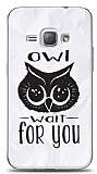 Dafoni Samsung Galaxy J1 2016 Owl Wait For You K�l�f