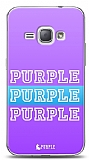 Samsung Galaxy J1 2016 Purple Design Kılıf