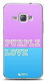 Samsung Galaxy J1 2016 Purple Love Kılıf