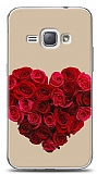 Dafoni Samsung Galaxy J1 2016 Rose Love 3 K�l�f