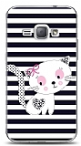 Dafoni Samsung Galaxy J1 2016 Stripe Cat K�l�f