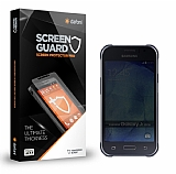 Dafoni Samsung Galaxy J1 Ace Privacy Tempered Glass Premium Cam Ekran Koruyucu