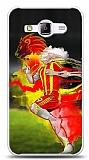 Samsung Galaxy J1 Ace Sarı Kırmızı Kılıf