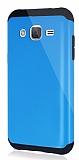 Dafoni Samsung Galaxy J2 Slim Power Ultra Koruma Mavi Kılıf