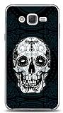 Dafoni Samsung Galaxy J2 Black Skull Kılıf