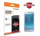 Dafoni Samsung Galaxy J2 Pro 2018 Slim Triple Shield Ekran Koruyucu