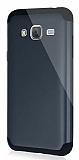 Dafoni Samsung Galaxy J3 2016 Slim Power Ultra Koruma Siyah Kılıf