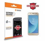 Dafoni Samsung Galaxy J3 Pro 2017 Slim Triple Shield Ekran Koruyucu