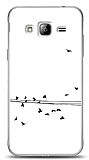 Dafoni Samsung Galaxy J3 2016 Flying Birds K�l�f