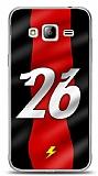 Samsung Galaxy J3 2016 Kırmızı Şimşekler Kılıf