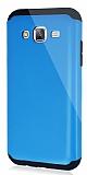 Dafoni Samsung Galaxy J5 Slim Power Ultra Koruma Mavi Kılıf