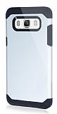 Dafoni Samsung Galaxy J5 2016 Slim Power Ultra Koruma Silver Kılıf
