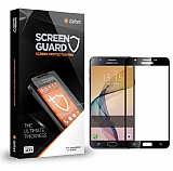 Dafoni Samsung Galaxy J5 Prime Curve Tempered Glass Premium Siyah Full Cam Ekran Koruyucu