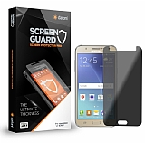Dafoni Samsung Galaxy J5 Prime Privacy Tempered Glass Premium Cam Ekran Koruyucu