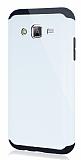 Dafoni Samsung Galaxy J5 Slim Power Ultra Koruma Beyaz Kılıf