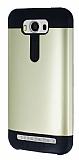 Dafoni Asus ZenFone 2 Laser 5 inç Slim Power Ultra Koruma Gold Kılıf