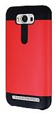 Dafoni Asus ZenFone 2 Laser 5 inç Slim Power Ultra Koruma Kırmızı Kılıf