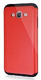 Dafoni Samsung Galaxy J7 / Galaxy J7 Core Slim Power Ultra Koruma Kırmızı Kılıf