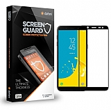 Dafoni Samsung Galaxy J6 Plus Curve Tempered Glass Premium Full Siyah Cam Ekran Koruyucu