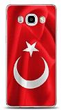 Samsung Galaxy J7 2016 Türk Bayrağı Kılıf