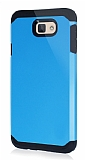Dafoni Samsung Galaxy J7 Prime Slim Power Mavi Kılıf