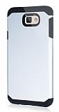 Dafoni Samsung Galaxy J7 Prime Slim Power Silver Kılıf
