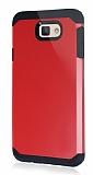 Dafoni Samsung Galaxy J7 Prime Slim Power Kırmızı Kılıf