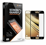 Dafoni Samsung Galaxy J7 Pro 2017 Tempered Glass Premium Full Siyah Cam Ekran Koruyucu