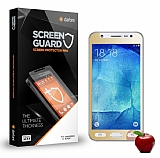 Dafoni Samsung Galaxy J7 Tempered Glass Ayna Gold Cam Ekran Koruyucu