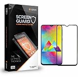 Dafoni Samsung Galaxy M20 Tempered Glass Premium Full Siyah Cam Ekran Koruyucu