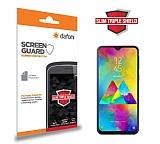 Dafoni Samsung Galaxy M20 Slim Triple Shield Ekran Koruyucu