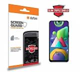 Dafoni Samsung Galaxy M21 Slim Triple Shield Ekran Koruyucu