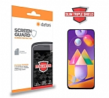 Dafoni Samsung Galaxy M31s Slim Triple Shield Ekran Koruyucu