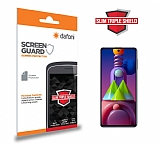 Dafoni Samsung Galaxy M51 Slim Triple Shield Ekran Koruyucu