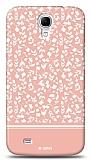 Dafoni Samsung Galaxy Mega 6.3 Pink Flower K�l�f