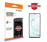 Dafoni Samsung Galaxy Note 10 Lite Slim Triple Shield Ekran Koruyucu