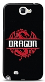 Dafoni Samsung Galaxy Note 2 Black Dragon Kılıf