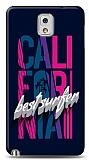 Dafoni Samsung Galaxy Note 3 California Surfer K�l�f